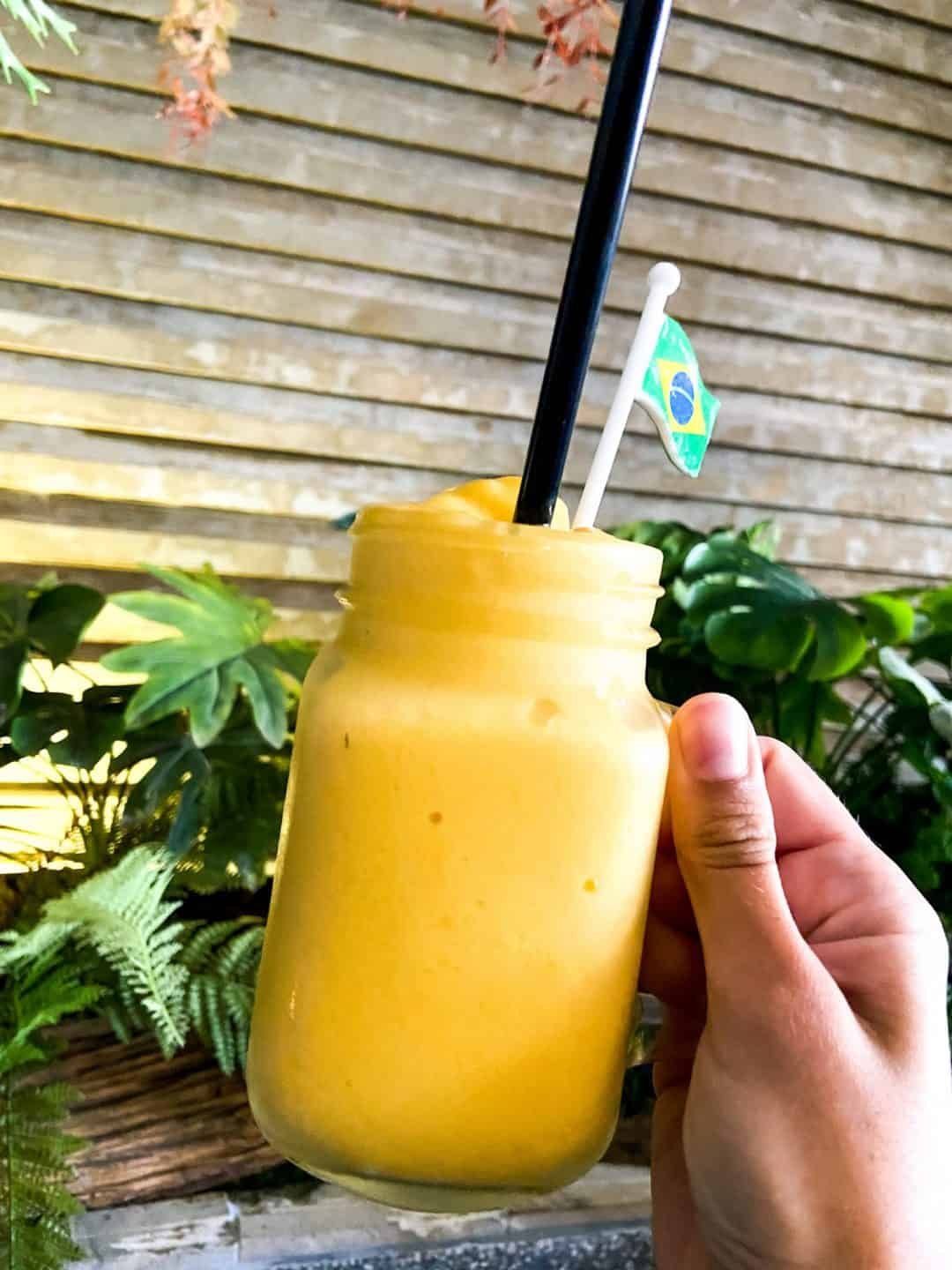 Mango Smoothie at The Hideout Barista & Lounge