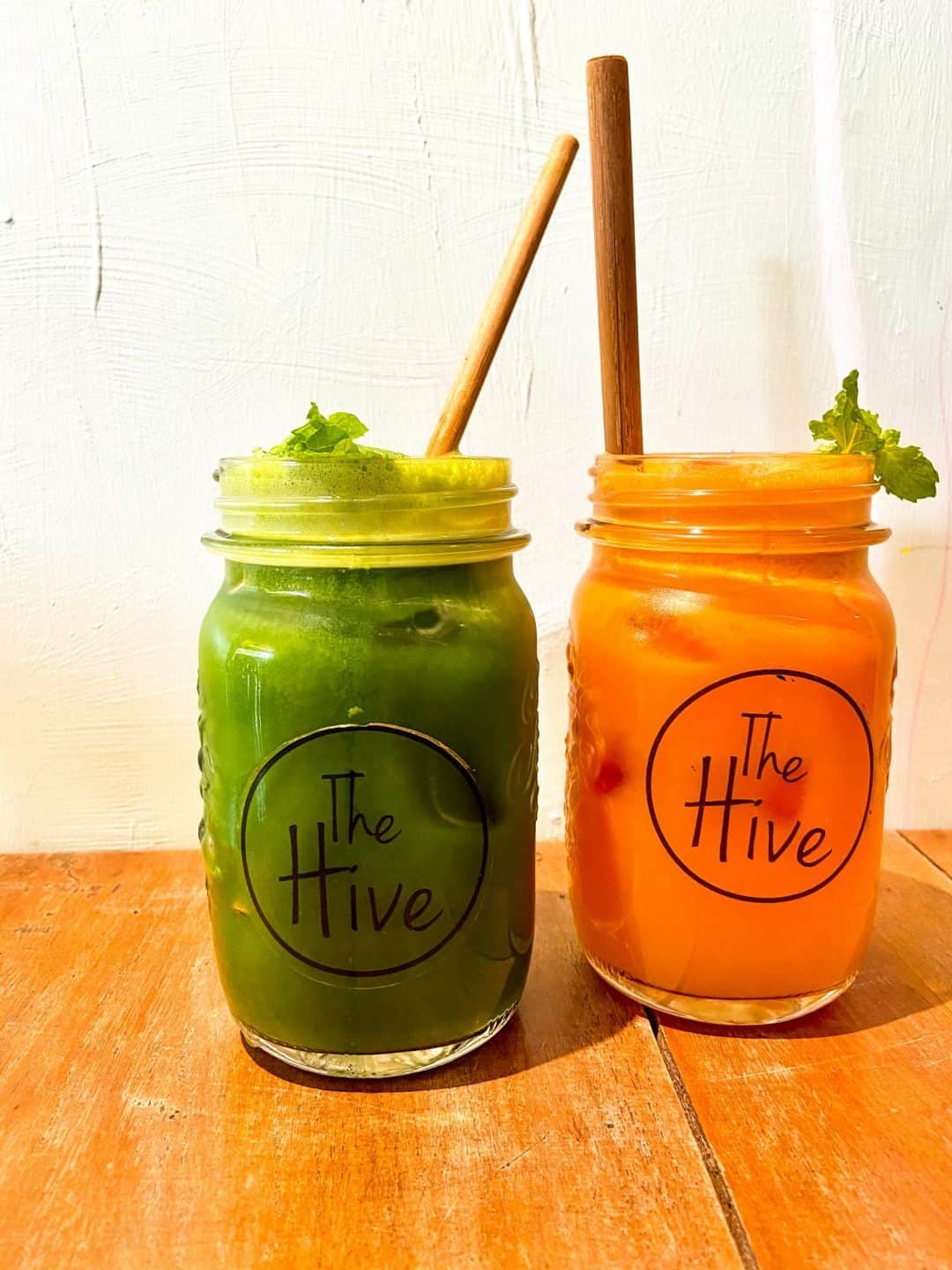 Fresh Pressed Juice at The Hive Siem Reap