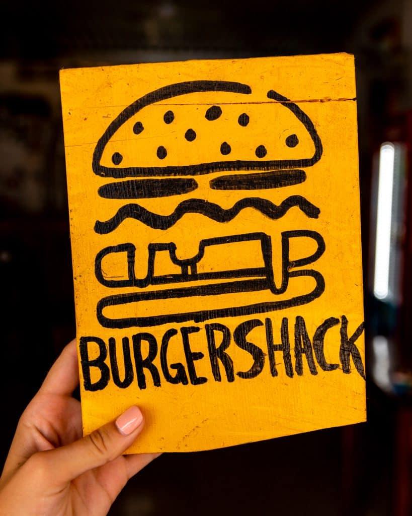 Burgershack sign