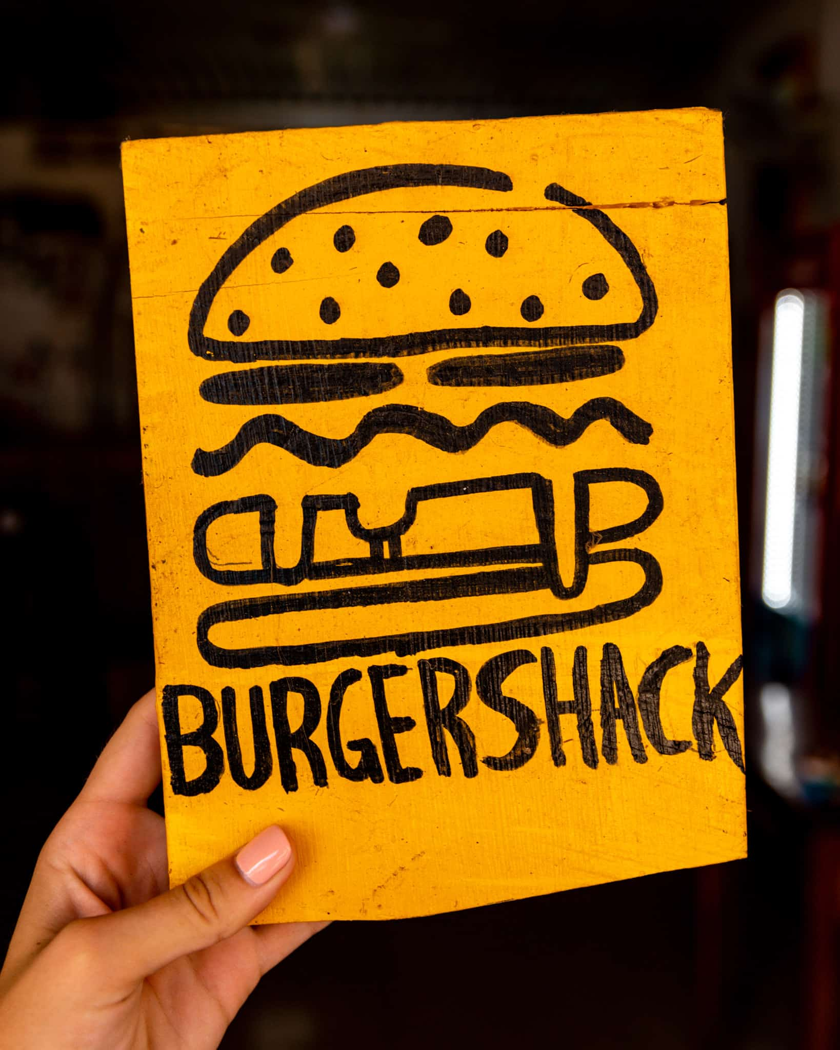 Burgershack sign