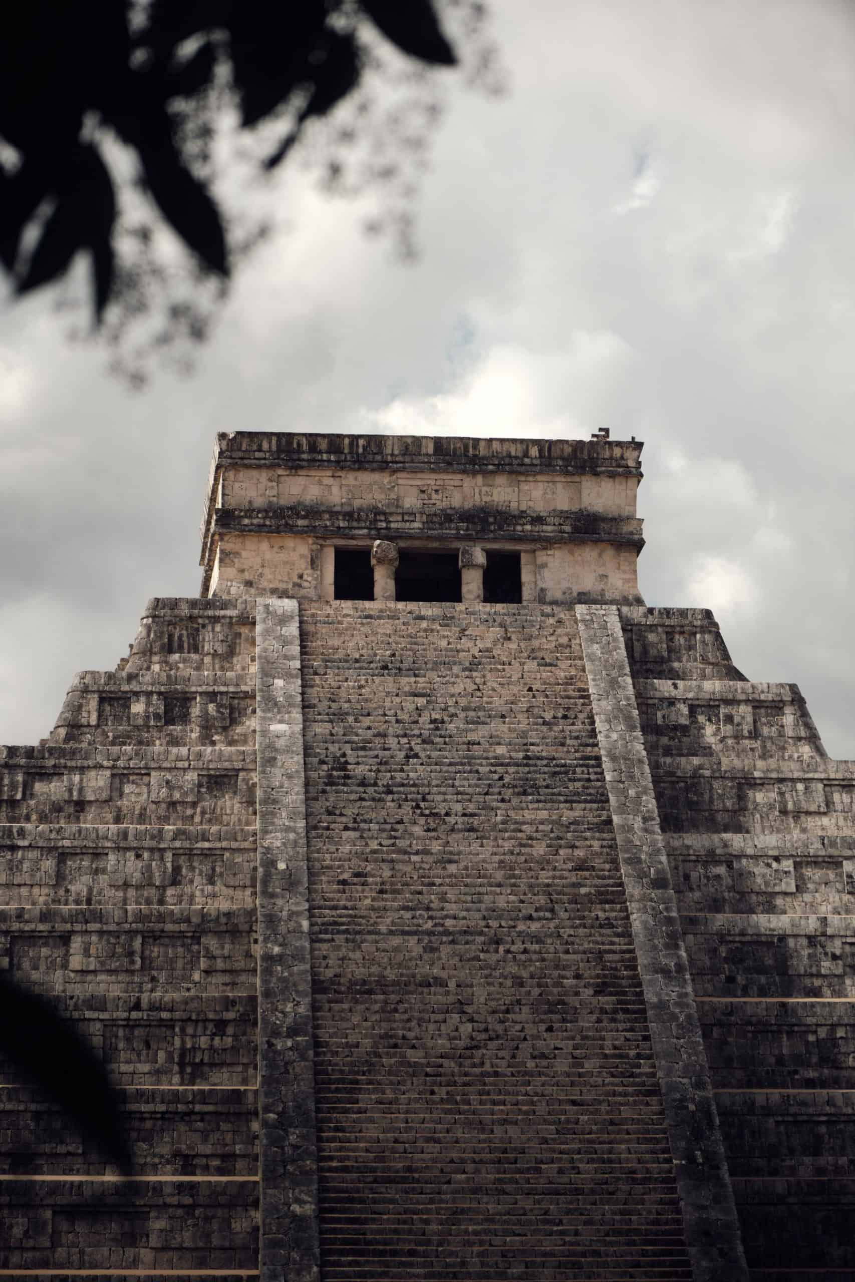 Chichen Izta El Castillo Pyramid